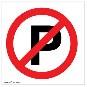 Tower ABS Sign - No Parking (Small)