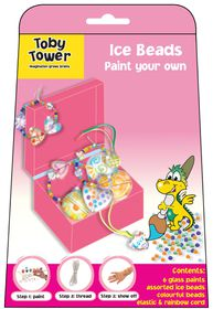Toby Tower Paint Your Own - Ice Beads