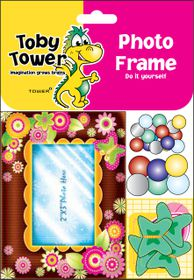 Toby Tower Photo Frame - Spring Brown