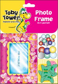 Toby Tower Photo Frame - Spring Pink
