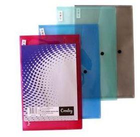 Croxley Foolscap Document Envelope - Blue - 12 Pack