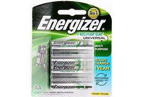 Energizer Rechargeable NiMH AA 1400 mAh Batteries
