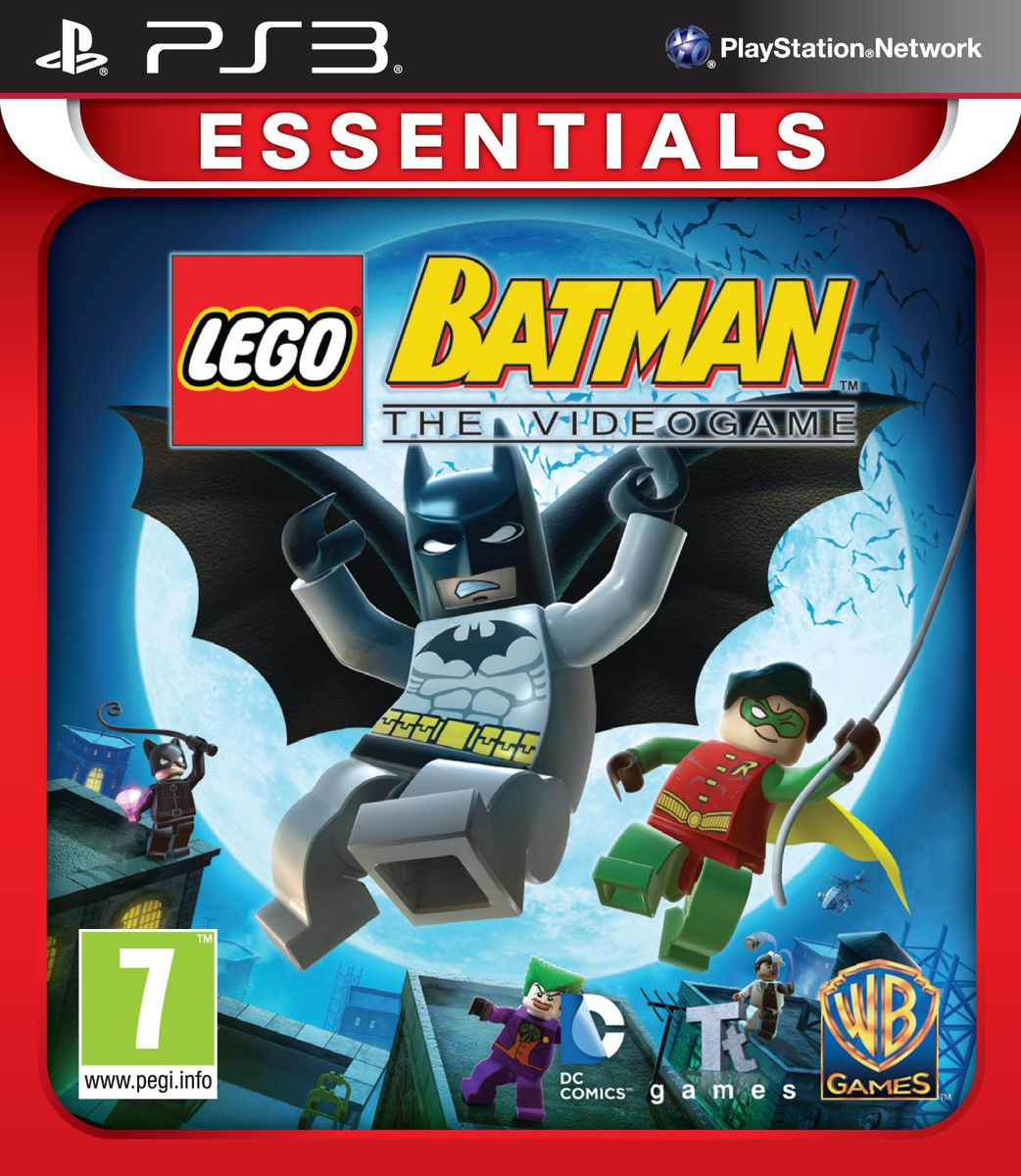 Lego Games For Ps3 : Lego batman the videogame ps essentials buy online