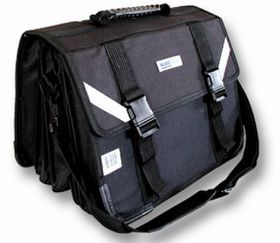 7 Division Senior Briefcase Backpack - Burgundy