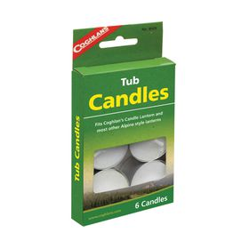 Coghlan's - Tub Candles - Pack of 6