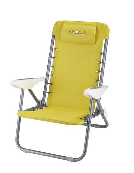 Oztrail Cabarita Beach Chair Yellow Buy line in South Africa