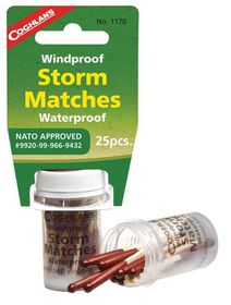 Coghlan's - Windproof/ Waterproof Storm Matches
