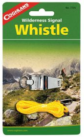 Coghlan's - Wilderness Whistle - Silver