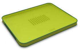 Joseph Joseph - Cut and Carve Plus Chopping Board - Green Large