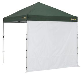 OZtrail - Gazebo Compact Solid Wall Kit 2.4m - White