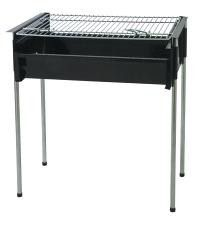Metalix - Adjustable Braai Large - Black