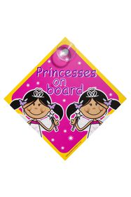 Jackflash - Baby On Board Sign - Princesses