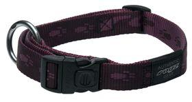 Rogz Large Alpinist K2 Dog Collar - 20mm Purple