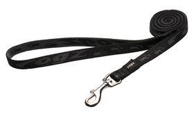 Rogz Medium Alpinist Matterhorn Fixed Dog Lead - 16mm Black