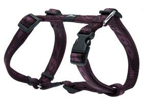 Rogz Medium Alpinist Matterhorn Dog H-Harness - 16mm Purple