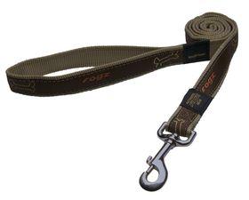 Rogz - Fancy Dress Beach Bum Dog Collar - Large 2cm - Bronze Bone