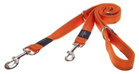 Rogz Utility Nitelife Multi-Purpose Dog Lead Small - 11mm Orange Reflective