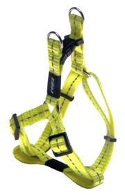 Rogz Utility Nitelife Step-in Dog Harness Small - 11mm Yellow Reflective