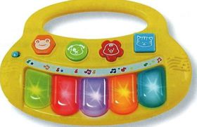 Winfun - Baby Fun Flashing Keyboard - Multi Coloured