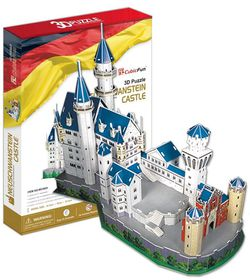 Cubic Fun Neuschwanstein Castle Germany - 98 Piece 3D Puzzle