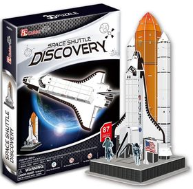 Cubic Fun Space Shuttle Discovery - 87 Piece 3D Puzzle