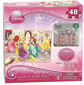 Sparkle and Shine Puzzle - Disney Princess