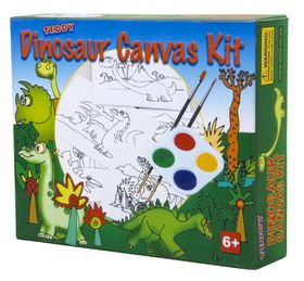 Teddy Dino Canvas Kit