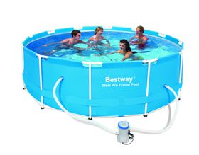 Bestway 9.1Kl Steel Pro Frame Pool Set - 366cm x 100cm