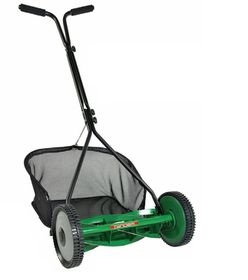 Tandem - Push Mower With Grassbox - 16 Inch