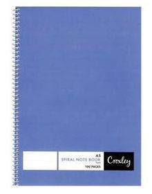 Croxley JD127 100 Page A5 Side Bound Note Book (10 Pack)