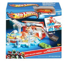 Hot Wheels - Ready to Play - Super Spin Carwash