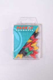 Parrot Giant Thumbtacks Assorted - Pack of 15