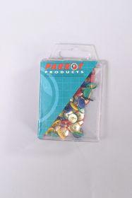 Parrot Hexagonal Pins Assorted - Pack of 30