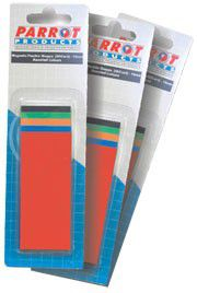 Parrot 15mm Flexible Magnetic Shapes Assorted - Pack of 50