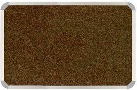 Parrot Aluminium Frame Bulletin Board - Spice Beige (900mm x 900mm)
