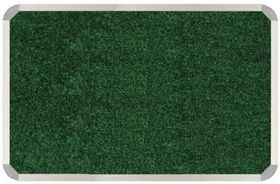 Parrot Aluminium Frame Bulletin Board - Palm Green (900mm x 900mm)