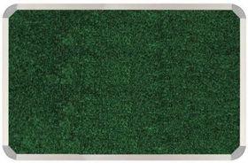 Parrot Aluminium Frame Bulletin Board - Palm Green (1000mm x 1000mm)