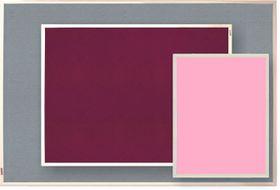 Parrot Info Board Plastic Frame 456mm - Pink