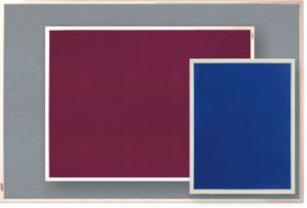 Parrot Info Board Plastic Frame 606mm - Royal