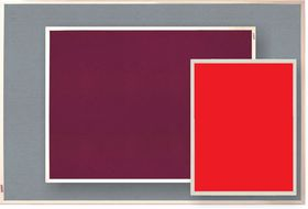 Parrot Info Board Plastic Frame 606mm - Red