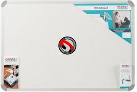 Parrot Whiteboard Magnetic - White 1500 x 900mm