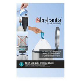 Brabantia 20 Litre Slimline Bin Liner - Pack of 20