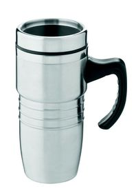 LeisureQuip - 450Ml New Age Travel Mug - Stainless Steel