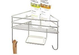 Steelcraft - Corner Shower Organiser - Single