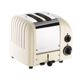 Dualit 2 Slice Classic Toaster - Canvas White
