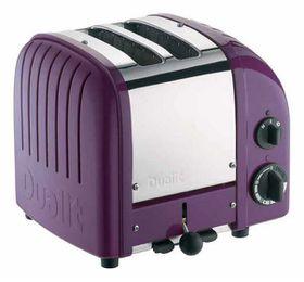 Dualit 2 Slice Classic Toaster - Plum