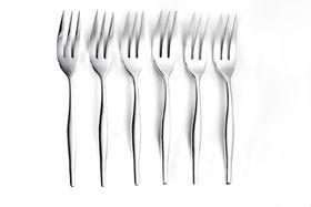 Eetrite - Slimline Cake Fork Set - 6 Piece