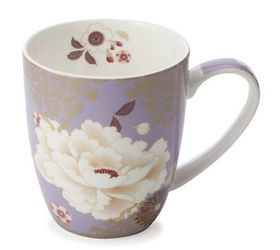 Maxwell and Williams - Kimono Mug - 400ml - Lilac