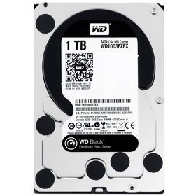 "WD Black 1TB 3.5"" SATA 6Gb/s Internal Hard Drive"