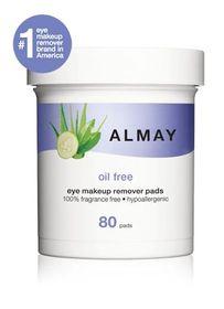 Almay Non Oily Eye Make Up Remover Pads